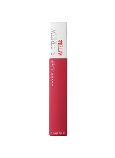 Maybelline Maybelline New York Super Stay Matte Ink Unnude Likit Mat Ruj - 80 Ruler - Kırmızı/Pembe Kahve